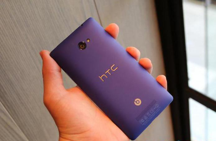 Smartphone HTC Windows Phone 8x: Funktionen und Bewertungen